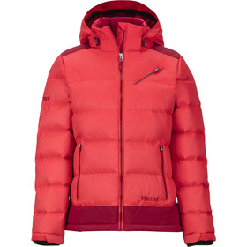 Marmot Sling Shot Chaqueta Mujer, scarlet red/sienna red